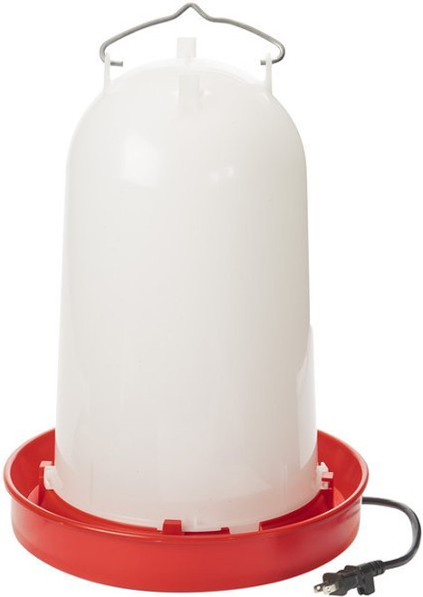 Allied Precision Heated Poultry Waterer, 3 gallon