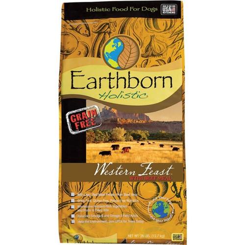 Earthborn Holistic Western Feast Dog Food, 28lbs