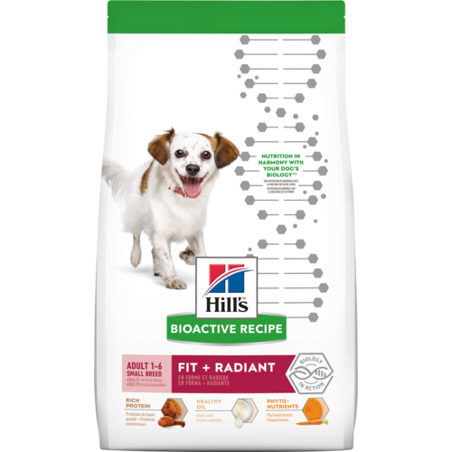 Hill's Bioactive Recipe Adult Small Breed Fit + Radiant​ Dog Food