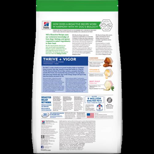 Hill's Bioactive Recipe Adult 7+ Small Breed Thrive + Vigor Dog Food
