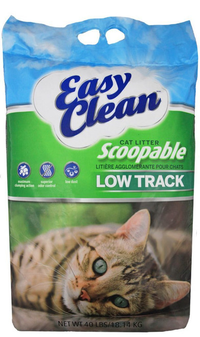 Pestell EasyClean Low Track Scoopable Cat Litter 20lbs