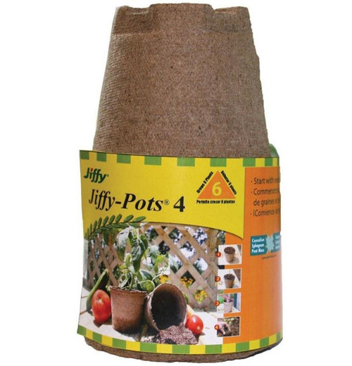 Jiffy Seed Starters Round Peat Pots