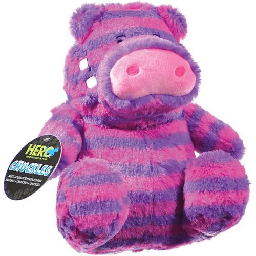Hero Chuckles Hippo Plush Dog Toy Large