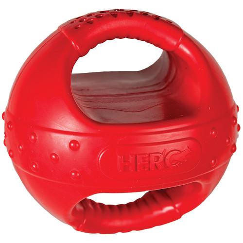 Hero Handle Dog Ball W/Squeaker