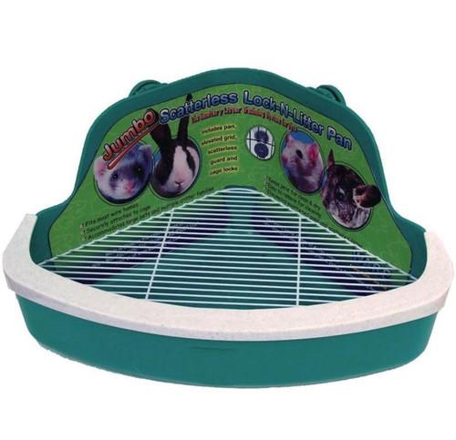 Ware Scatterless Lock-n-Litter Small Animal Litter Pan Jumbo
