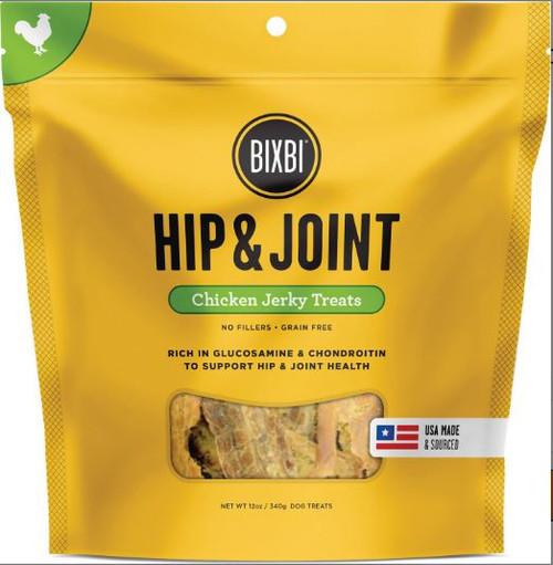Bixbi Hip & Joint Chicken Jerky Dog Treats 15oz Bag