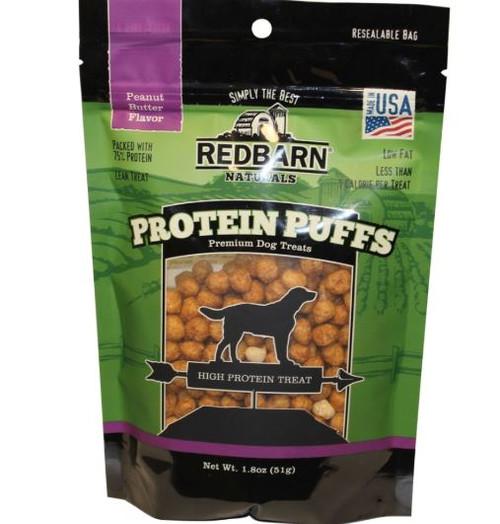 RedBarn Protein Puffs Peanut Butter Flavored Dog Treats 1.8oz Bag