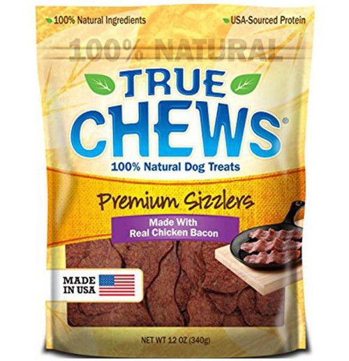 Tyson True Chews Chicken Bacon Recipe Jerky Fillets 12oz Bag
