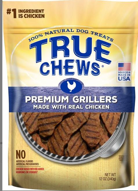 Tyson True Chews Premium Grillers Real Chicken Dog Treats 12oz Bag