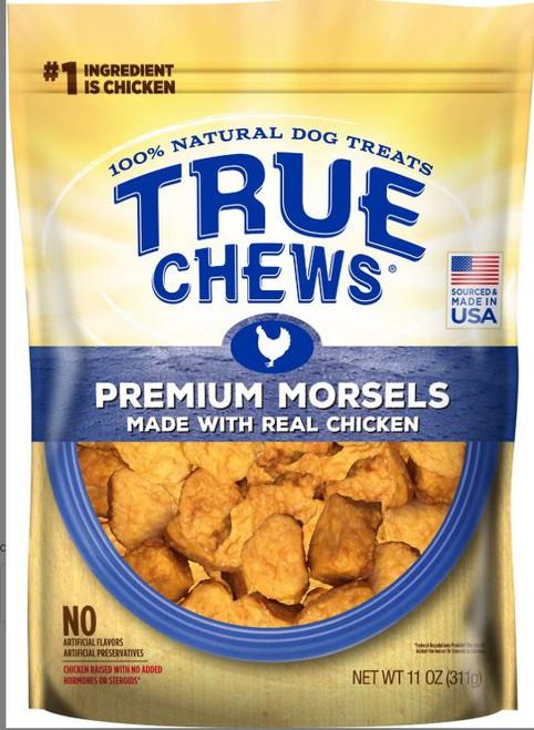 Tyson True Chews Premium Real Chicken Morsels Dog Treats 11oz Bag