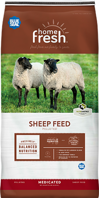 Blue Seal Home Fresh 20 Sheep Starter Grower 45DQ Pellets 50 Pounds