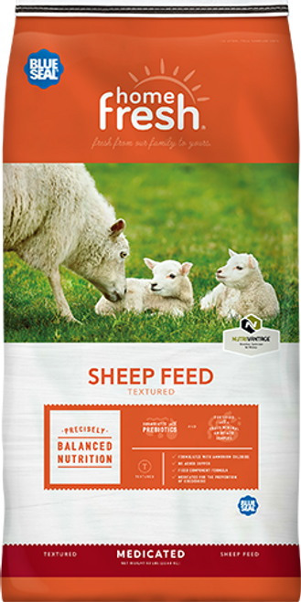 Blue Seal Home Fresh 18 Sheep Starter-Grower 18DQ Textured Feed 50 Pounds