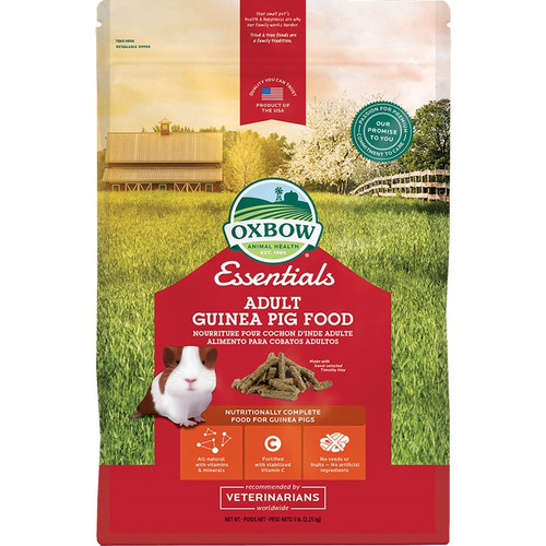 Oxbow Small Animal Essentials Adult Guinea Pig Food