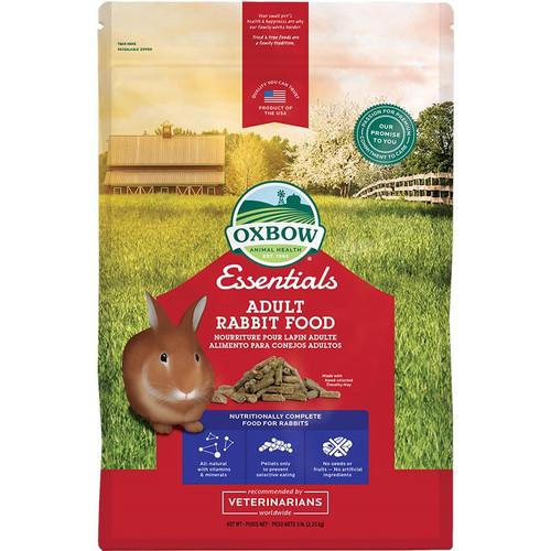 Oxbow Small Animal Essentials Adult Rabbit Food, 5lbs