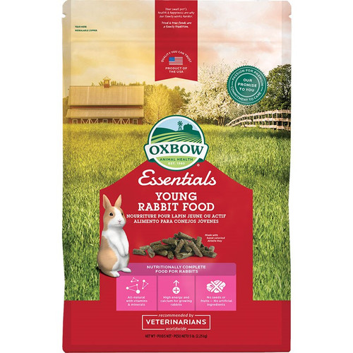 Oxbow Small Animal Essentials Young Rabbit Food