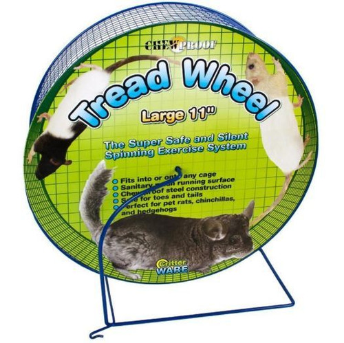 "Critter Ware Wire Mesh Large 11"" Wheel"