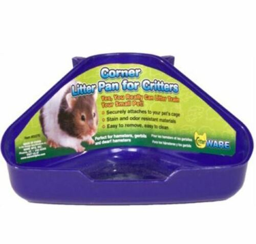 Critter Ware Corner Litter Pan For Critters