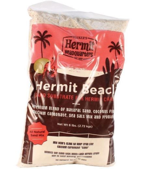 Fluker's Hermit Headquarters Hermit Beach Sand Substrate 6Lb Bag