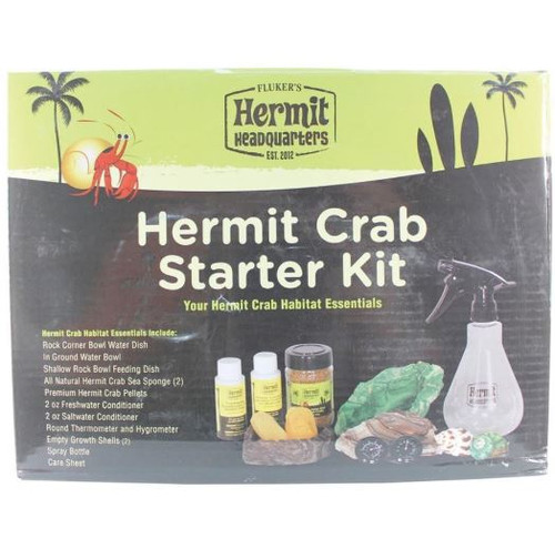 Fluker's Hermit Headquarters Hermit Crab Starter Kit