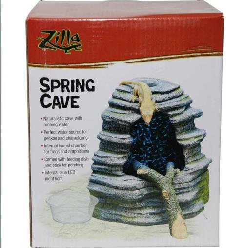 Zilla Spring Cave Reptile Décor