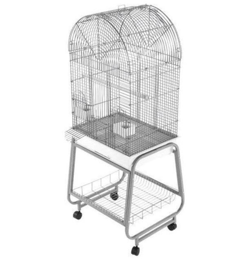 Seneca Open Dome Top Cage With Removable Stand