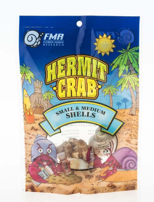 FMR Packaged Natural Hermit Crab Shell