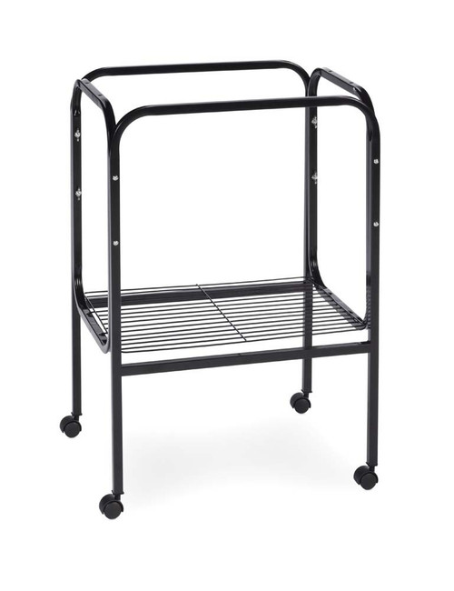 Prevue Pet Products Pre-Packed White/Black Cage Stand