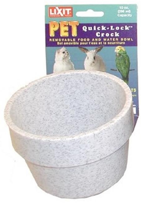 Lixit Quick Lock Granite Crock