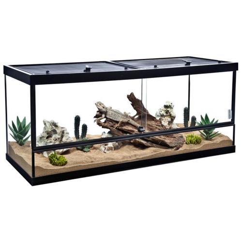 Tetrafauna Deluxe ReptoHabitat Reptile Enclosure 75 Gallon