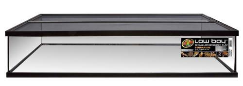 Zoo Med Low Body Terrarium Flat With Aluminum Screen 50 Gallon