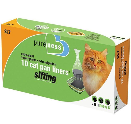 Van Ness Extra Giant Sifting Cat Pan Liners 10 Count