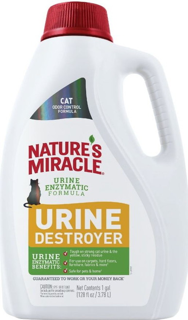Nature's Miracle Just For Cats Urine Destroyer 1 Gallon Bottle
