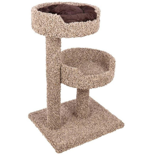 Ware 2 Story Cat Perch With Donut Bed