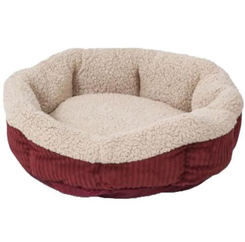 Aspen Pet Warm Spice/Cream Self Warming 19 Inch Pet Bed