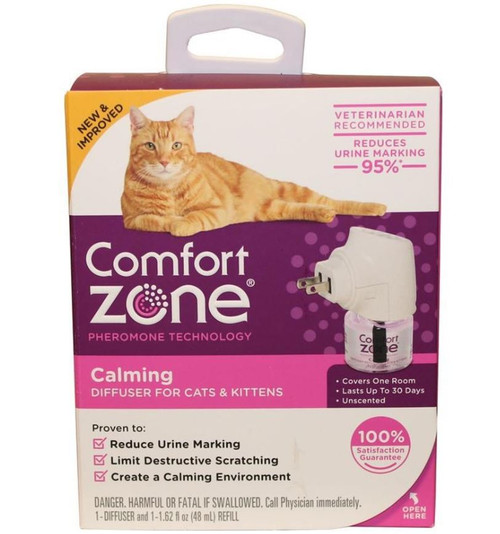 Comfort Zone Calming Diffuser Kit For Cats & Kittens 1.62oz