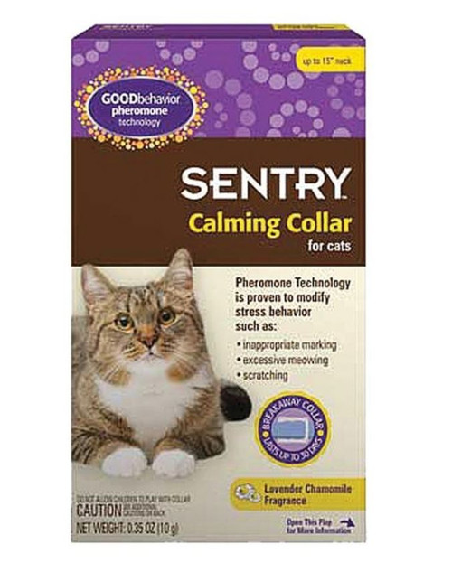 Sentry HC Good Behavior Pheromone Cat Calming Collar 1 Count