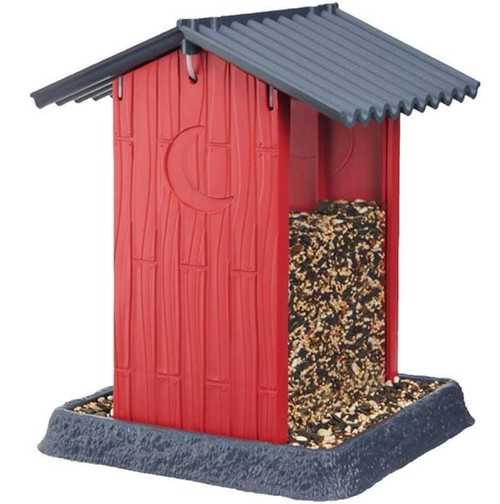 North States Red Shed Bird Feeder