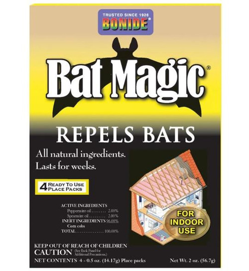 Bonide Bat Magic Bat Repellent 4 Pack