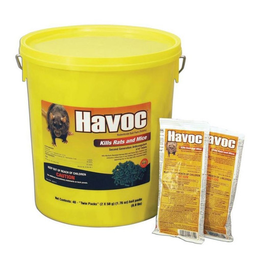 Havoc Rodenticide Bait Packs