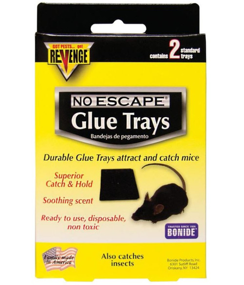 Revenge No Escape Mouse Glue Trap 2 Pack