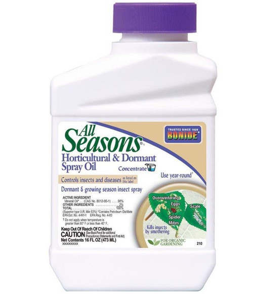 Bonide All Seasons Horticultural Oil Spray Concentrate 1 Pint
