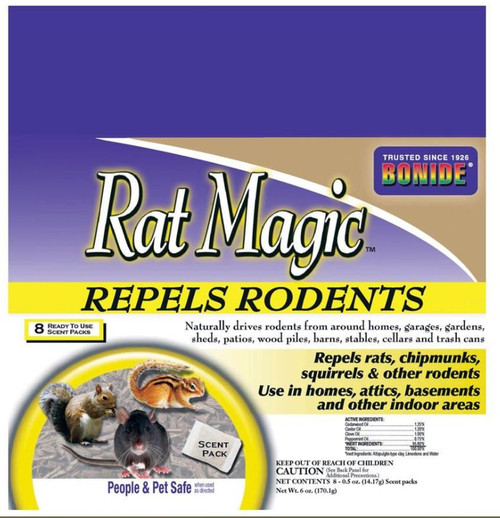 Bonide Rat Magic Scent Packs 1.5oz