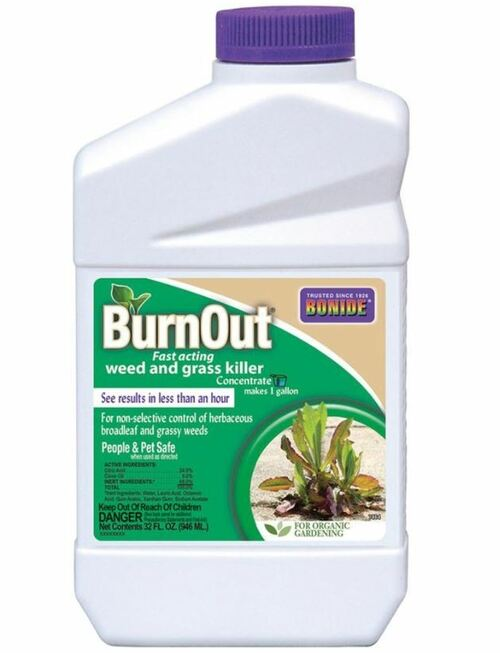 Bonide Burnout Weed & Grass Killer Concentrate 32oz
