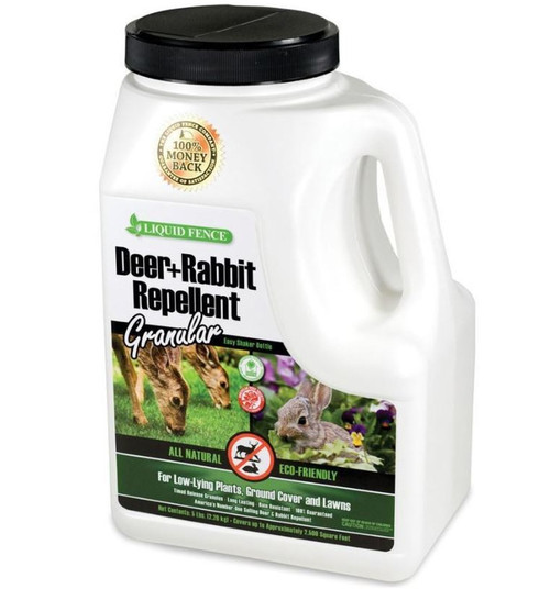 Liquid Fence Deer & Rabbit Repellent Granular 5 Lbs
