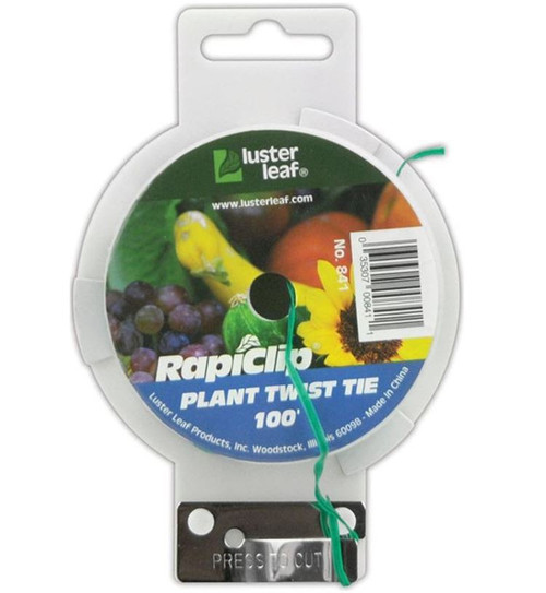 Luster Leaf Plant Twist Tie Spool With Cutter