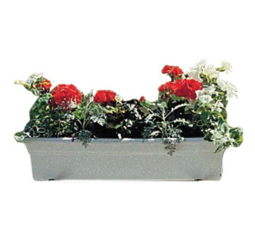 Novelty White Countryside Flowerbox