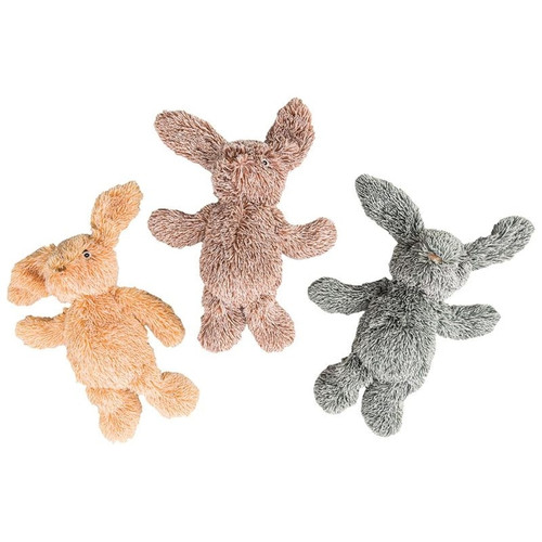 Ethical Dog Plush Cuddle Bunnies, Assorted Colors