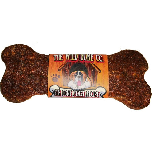 The Wild Bone Prairie Recipe Jerky Dog Treat, Elk