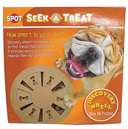 Ethical Pet Spot Seek-A-Treat Discovery Wheel Puzzle