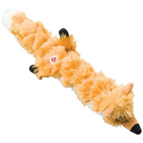 """Ethical Pet Spot Skinneeez Extreme 14"""" Quilted Fox Dog Toy"""
